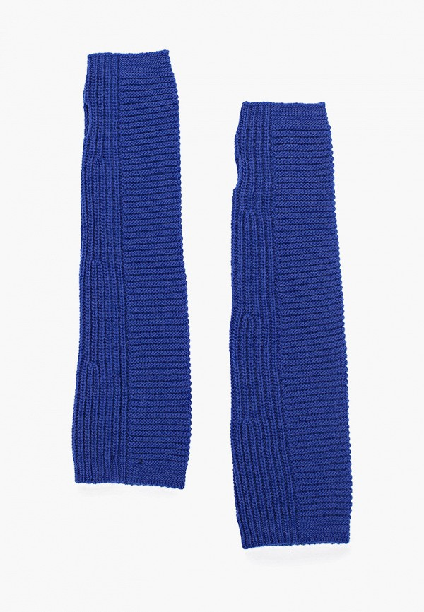 Фото - Женские митенки United Colors of Benetton синего цвета