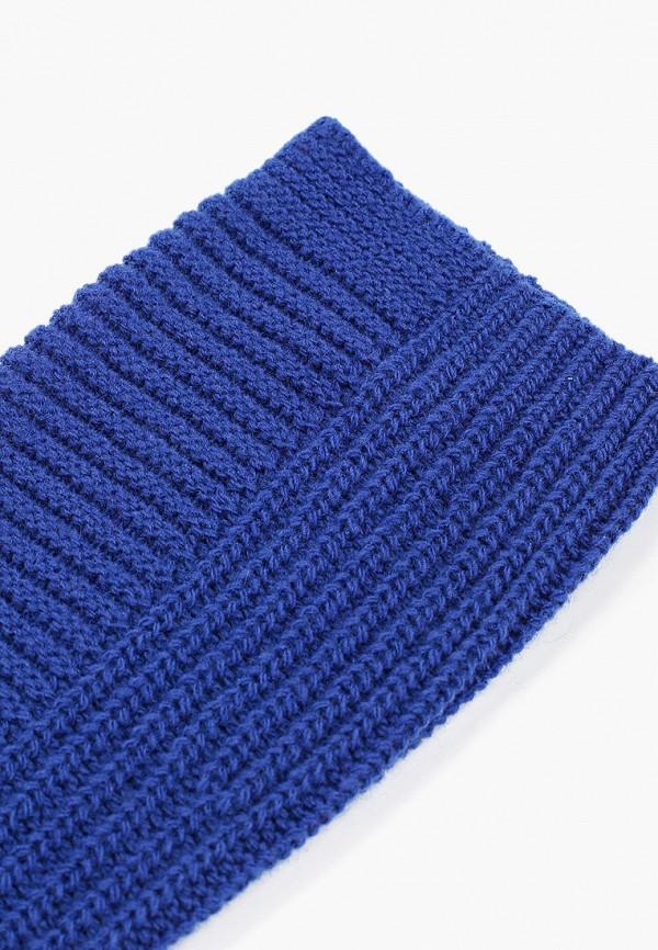 Фото 2 - Женские митенки United Colors of Benetton синего цвета