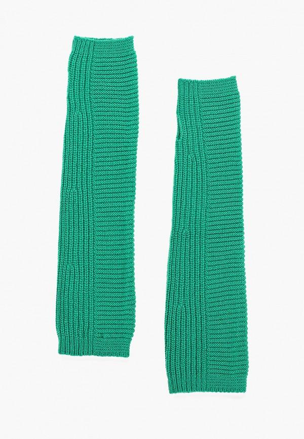 женские митенки united colors of benetton, зеленые