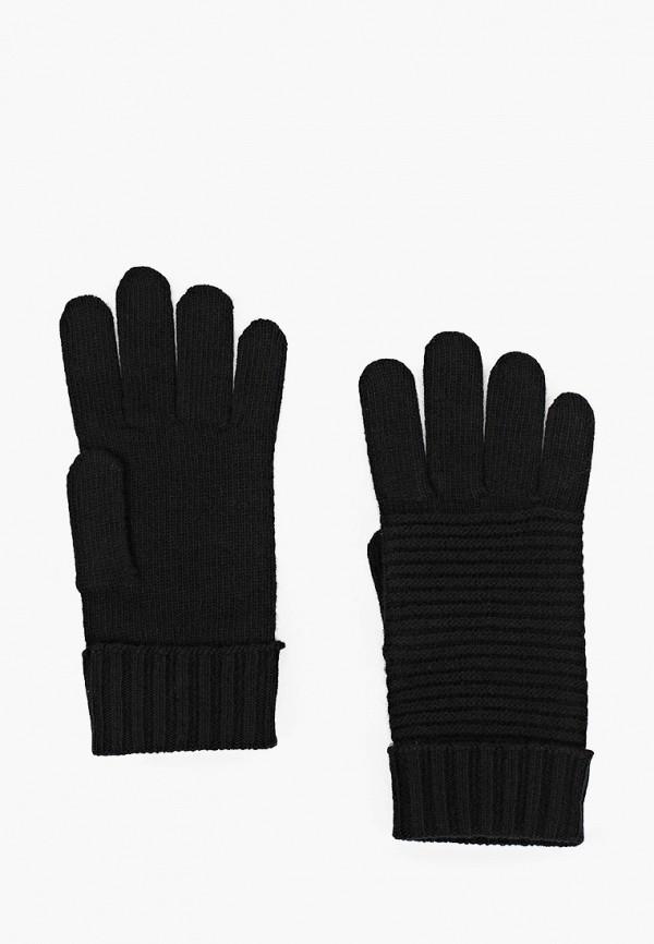 женские текстильные перчатки united colors of benetton, черные