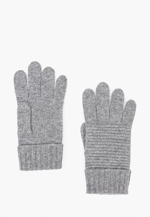 женские текстильные перчатки united colors of benetton, серые