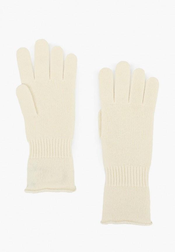 женские текстильные перчатки united colors of benetton, белые