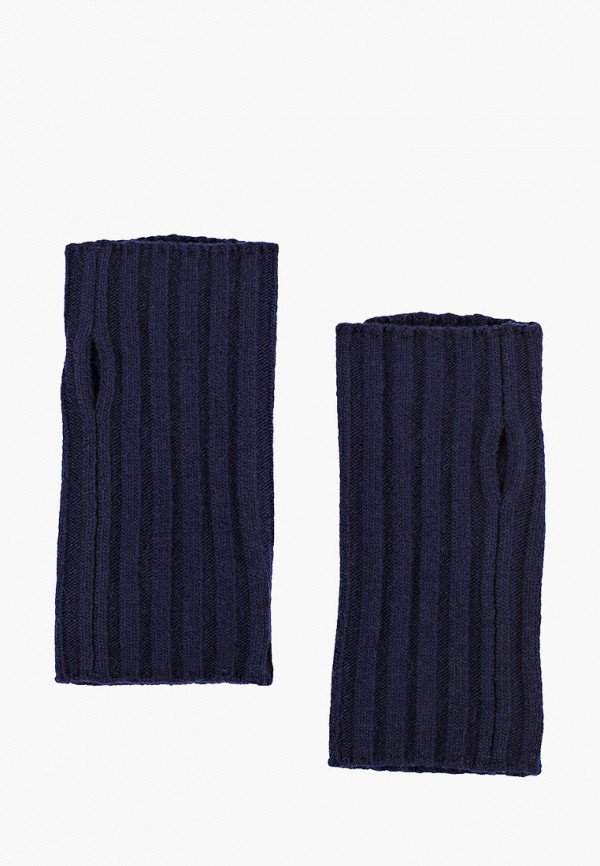 женские митенки united colors of benetton, синие