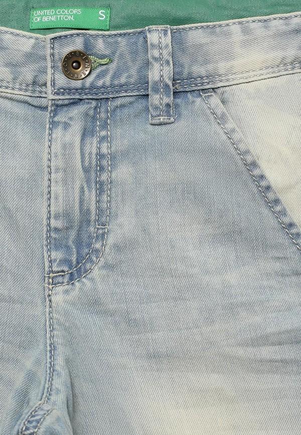 Шорты для мальчика джинсовые United Colors of Benetton 4AYG59AK0 Фото 3