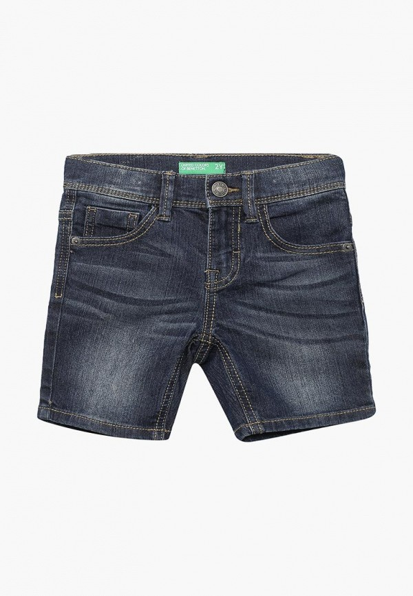 джинсовые шорты united colors of benetton для мальчика, синие