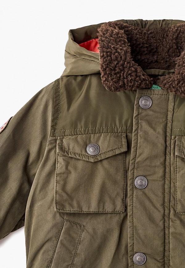 Куртка для мальчика утепленная United Colors of Benetton 2DJC53DB0 Фото 3