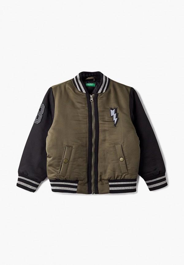 купить Куртка утепленная United Colors of Benetton United Colors of Benetton UN012EBBYHM5 по цене 3499 рублей