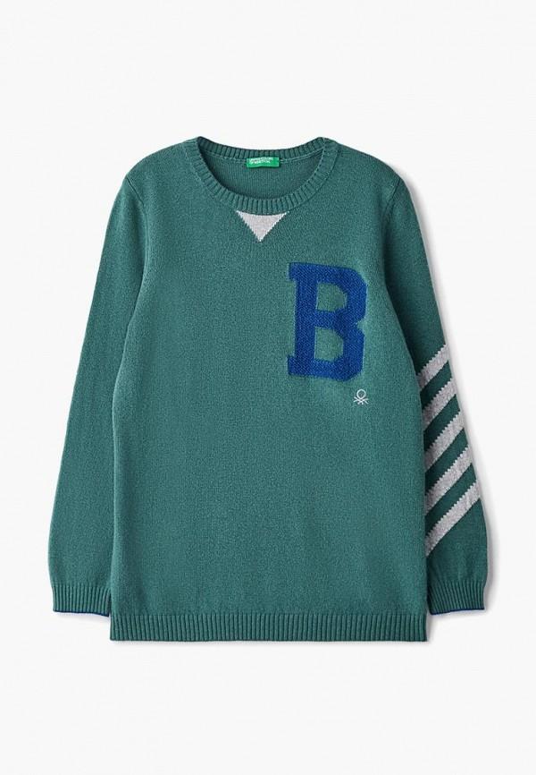джемпер united colors of benetton для мальчика, зеленый