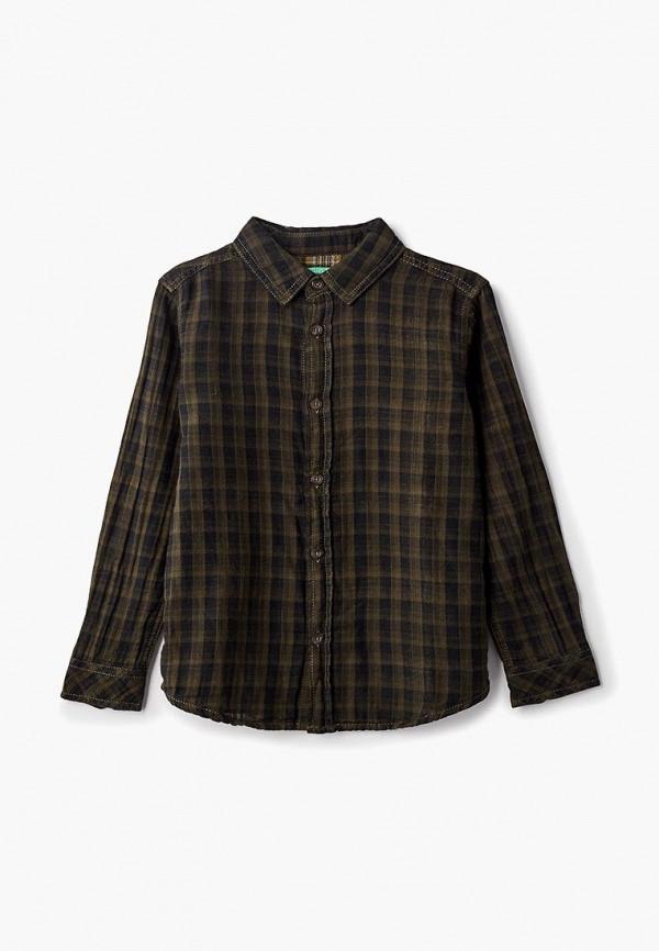 рубашка united colors of benetton для мальчика, хаки