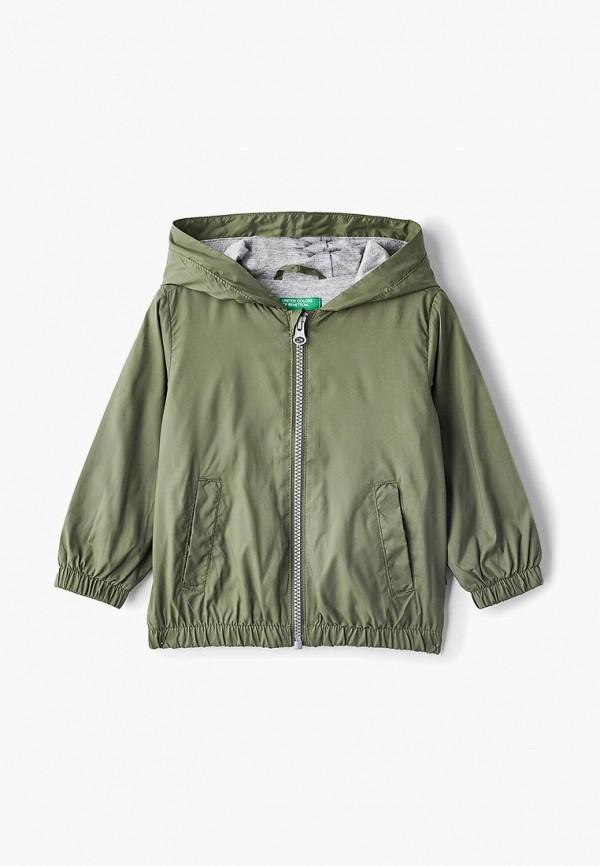 Купить Ветровка United Colors of Benetton, un012ebdxjn1, хаки, Весна-лето 2019