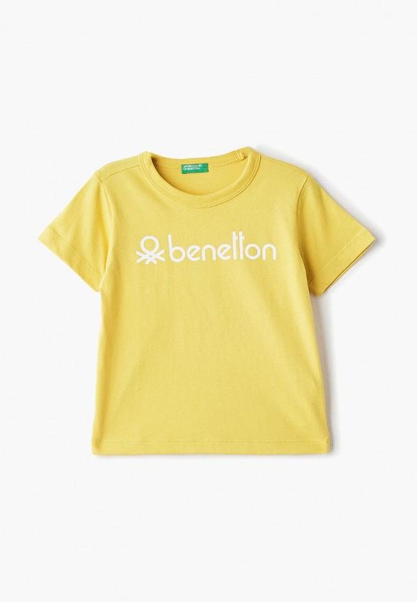 Футболка United Colors of Benetton United Colors of Benetton UN012EBDXJR5 футболка с длинным рукавом для мальчика united colors of benetton цвет желтый 3i1xc17fp 35r размер 100