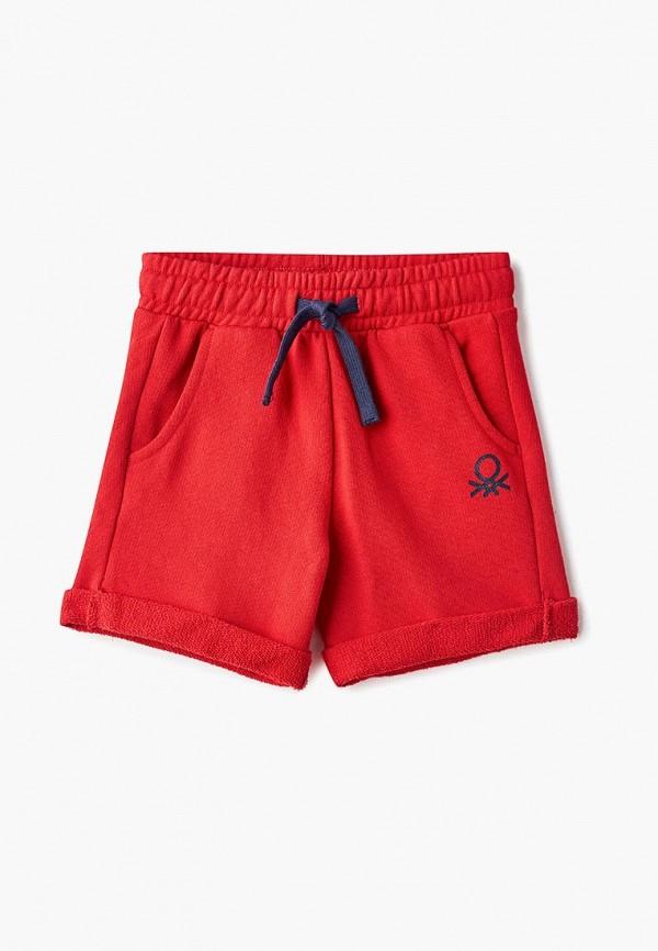 шорты united colors of benetton для мальчика, красные