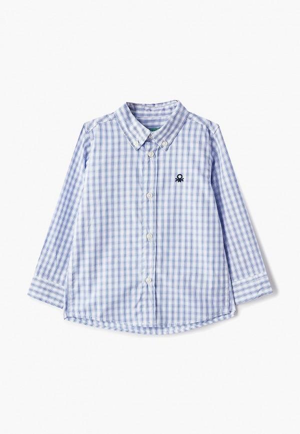 Рубашка United Colors of Benetton United Colors of Benetton UN012EBDXJT6 рубашка жен united colors of benetton цвет белый черный растительный 5dfx5q865 917 размер s 42 44