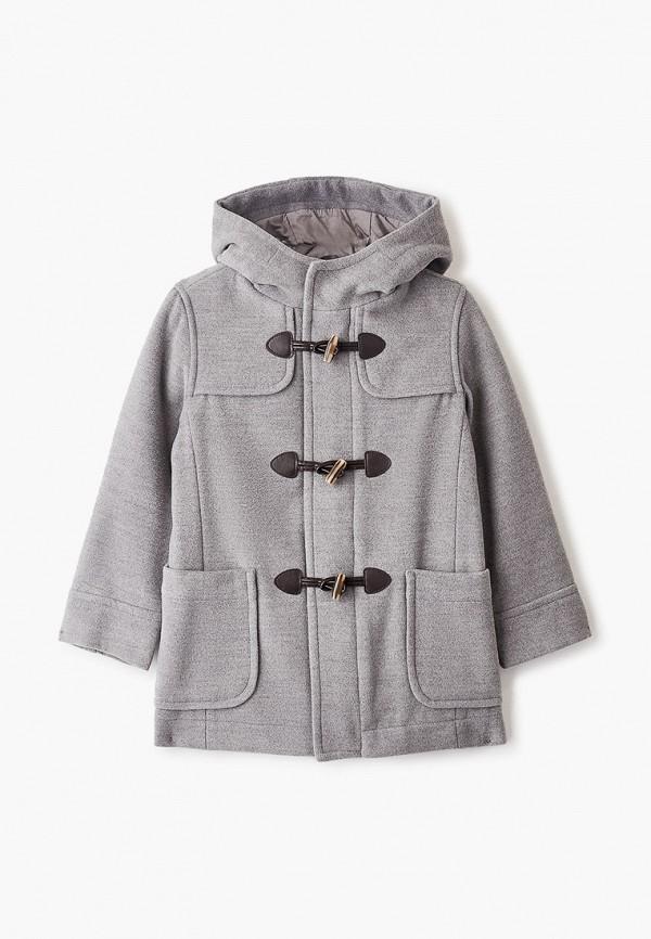 пальто united colors of benetton для мальчика, серое