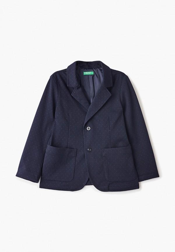 пиджак united colors of benetton для мальчика, синий