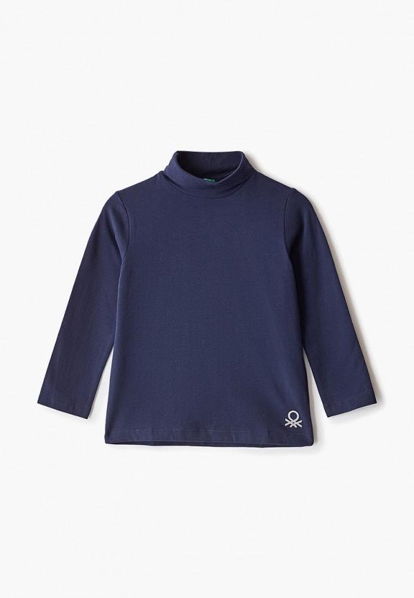 водолазка united colors of benetton для мальчика, синяя