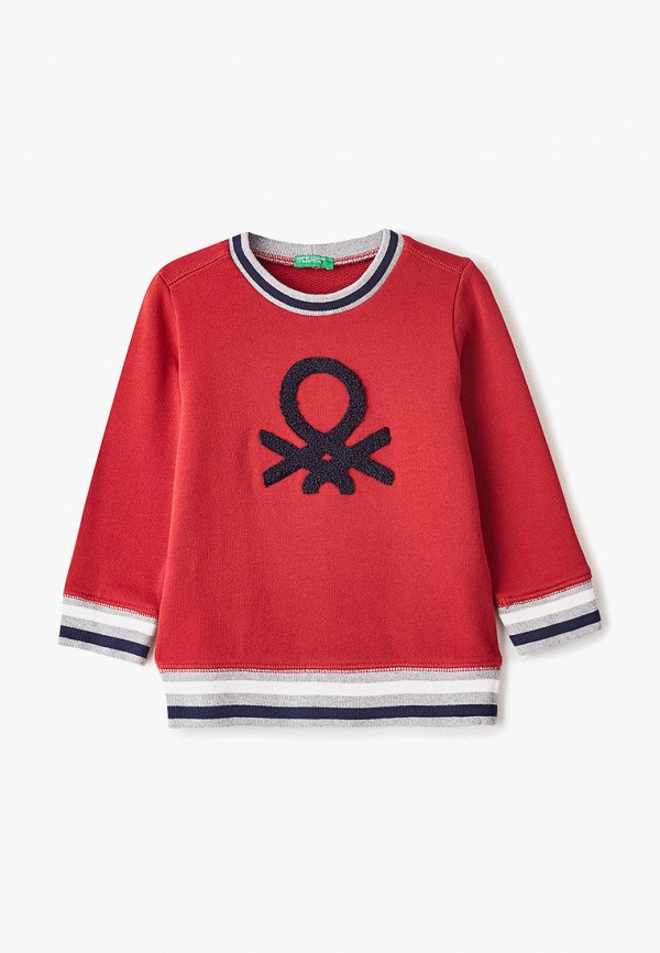 свитшот united colors of benetton для мальчика, красный