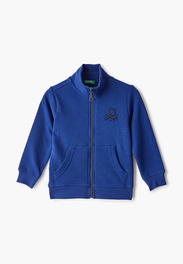 олимпийка united colors of benetton для мальчика, синяя