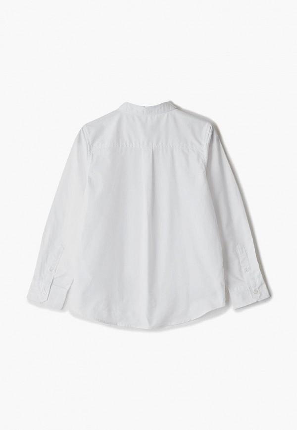 Фото 2 - Рубашку United Colors of Benetton белого цвета