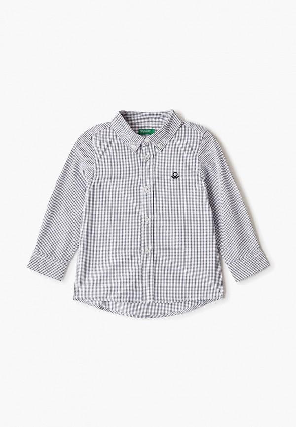 рубашка united colors of benetton для мальчика, белая