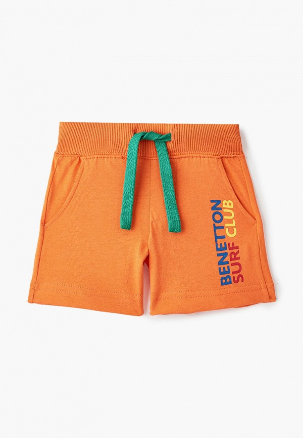 шорты united colors of benetton для мальчика, оранжевые