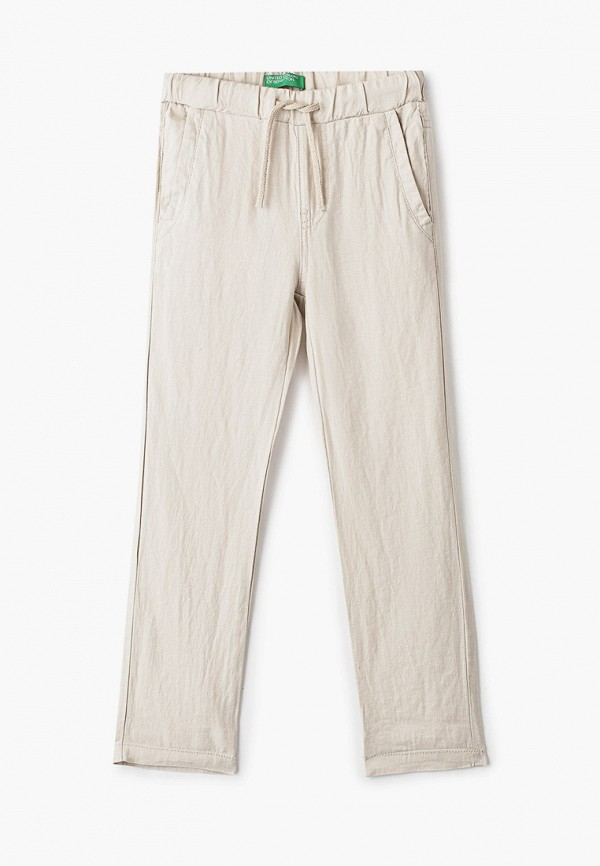 брюки united colors of benetton для мальчика, бежевые