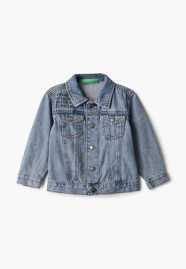 джинсовые куртка united colors of benetton для мальчика, синяя