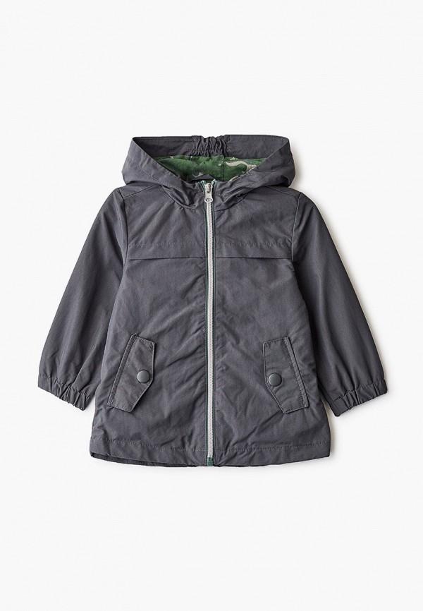 легкие куртка united colors of benetton для мальчика, серая