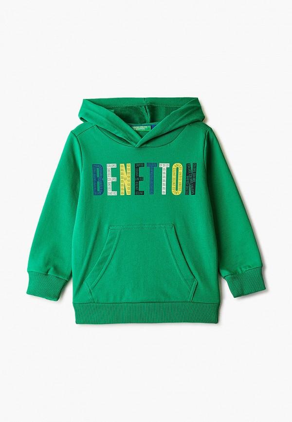 худи united colors of benetton для мальчика, черные