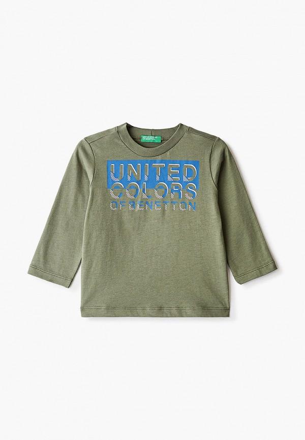 лонгслив united colors of benetton для мальчика, хаки