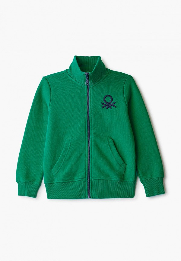 олимпийка united colors of benetton для мальчика, зеленая