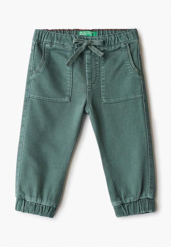 брюки united colors of benetton для мальчика, зеленые