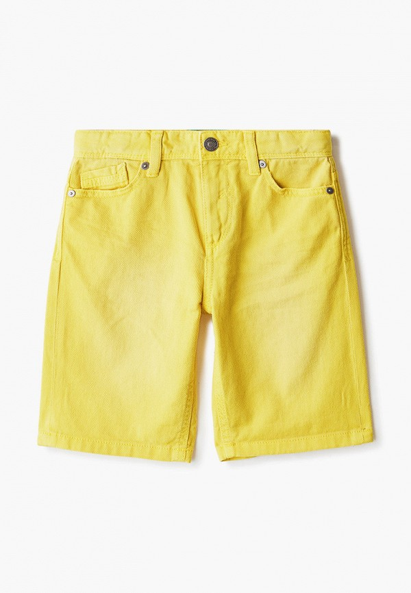 шорты united colors of benetton для мальчика, желтые