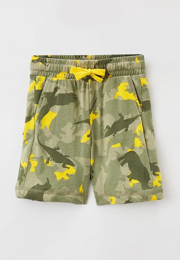 спортивные шорты united colors of benetton для мальчика, хаки