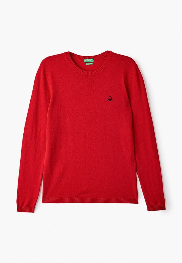 джемпер united colors of benetton для мальчика, красный