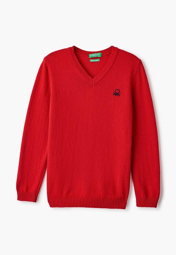 Пуловер United Colors of Benetton United Colors of Benetton 1032C4078 красный фото