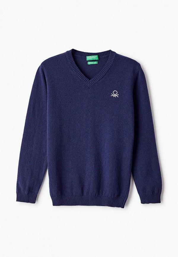 Пуловер United Colors of Benetton United Colors of Benetton 1032C4078 синий фото