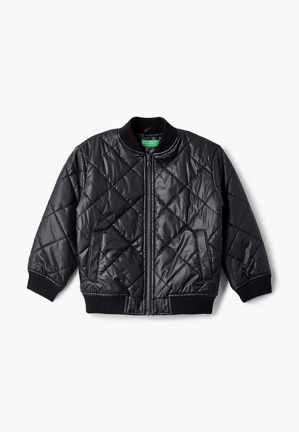 куртка united colors of benetton для мальчика, черная