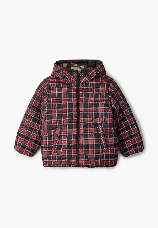 утепленные куртка united colors of benetton для мальчика, разноцветная