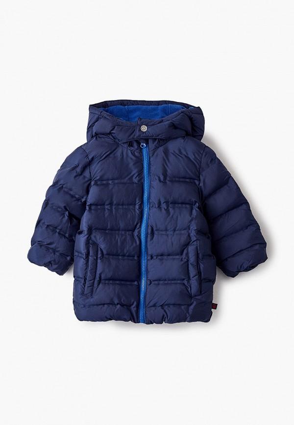 утепленные куртка united colors of benetton для мальчика, синяя