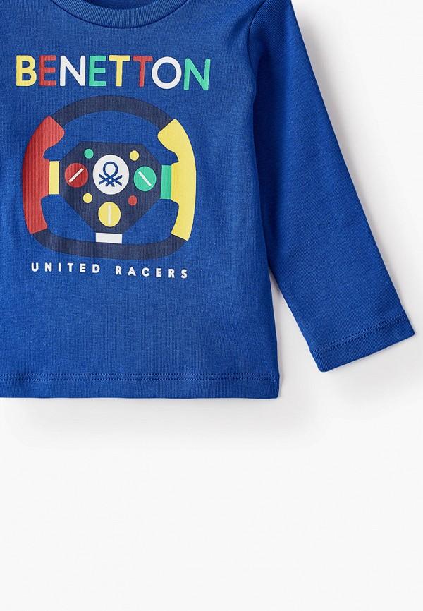 Лонгслив для мальчика United Colors of Benetton 3I9WC14QQ Фото 3
