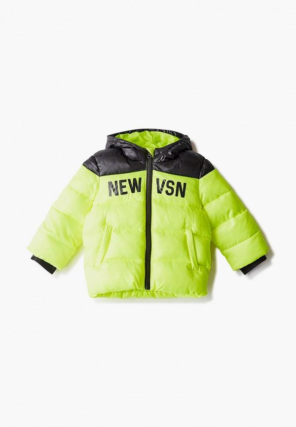 куртка united colors of benetton для мальчика, зеленая