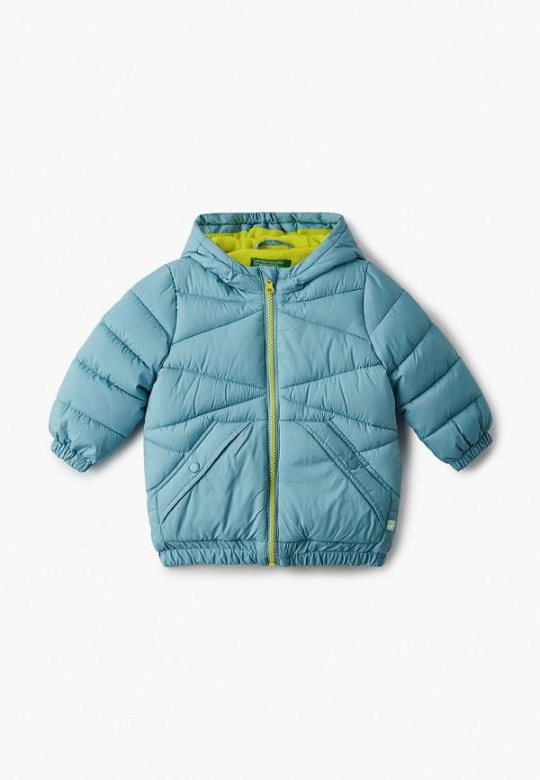 куртка united colors of benetton для мальчика, голубая
