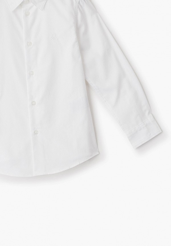 Рубашка для мальчика United Colors of Benetton 5DGX5QIS0 Фото 3