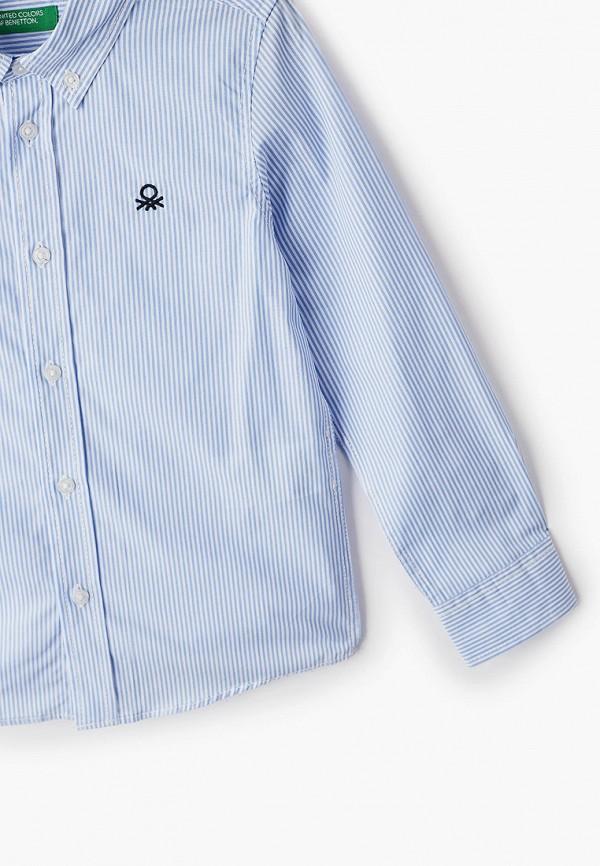 Рубашка для мальчика United Colors of Benetton 5DU65QHT0 Фото 3