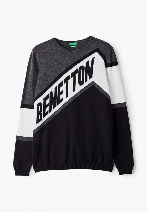 джемпер united colors of benetton для мальчика, черный