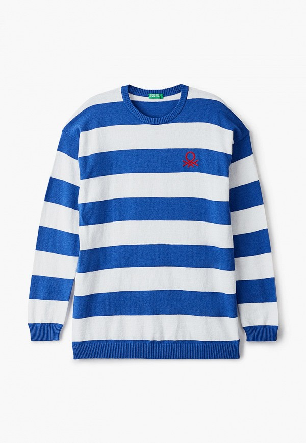 джемпер united colors of benetton для мальчика, синий