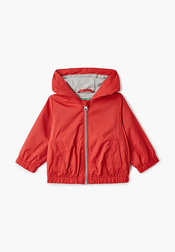 куртка united colors of benetton для мальчика, красная