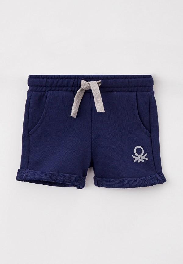 спортивные шорты united colors of benetton для мальчика, синие