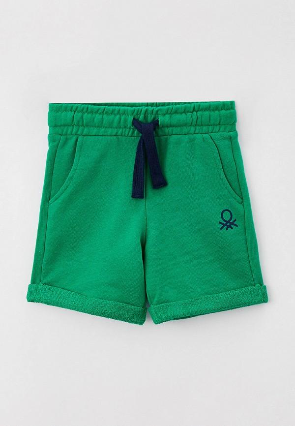 шорты united colors of benetton для мальчика, зеленые